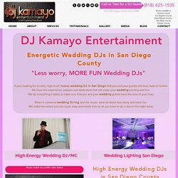 The San Diego Wedding DJ That Rocks