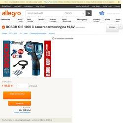 BOSCH GIS 1000 C kamera termowizyjna 10,8V (5933160815)