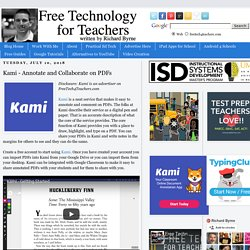 Kami - Annotate and Collaborate on PDFs