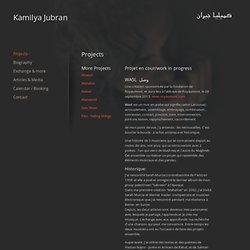 Wasl @ site Kamilya Jubran