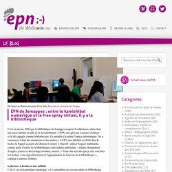 EPN de Jemappes: entre le kamishibai numérique et le free spray virtuel, il y a la bibliothèque