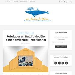 Fabriquer un Butaï : Modèle pour Kamishibaï Traditionnel