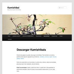 Descargar Kamishibais