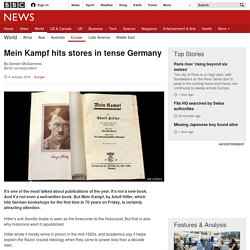 Mein Kampf hits stores in tense Germany