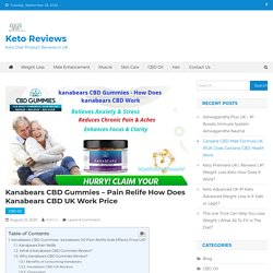 Kanabears CBD Gummies - How Does Kanabears CBD UK Work Price