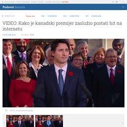 VIDEO: Kako je kanadski premijer zaslužio postati hit na internetu