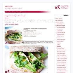 KANAPKI - Kanapka z mozzarellą, awokado i rukolą