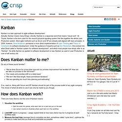 Lean/Kanban - Crisp AB