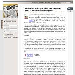 Kanboard, un logiciel libre pour gérer ses projets avec la méthode Kanban