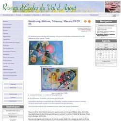 Kandinsky, Matisse, Delaunay, Klee en GS/CP (2) - Réseau d'écoles du Val d'Agout