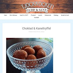 Choklad & Kaneltryffel