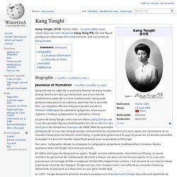 Kang Tongbi
