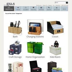 Kangaroom Storage by g.u.s - www.GreatUsefulStuff.com