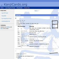 KanjiCards.org