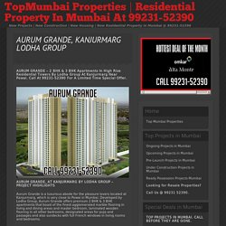 Lodha Group Aurum Grande