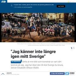"""""""Jag känner inte längre igen mitt Sverige"""""""
