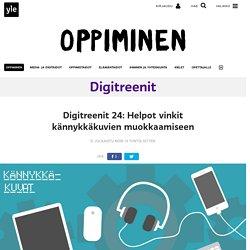 Digitreenit 24: Helpot vinkit kännykkäkuvien muokkaamiseen