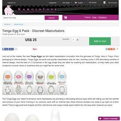 Tenga Egg 6 Pack - Discreet Masturbators