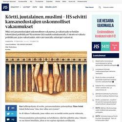 Körtti, juutalainen, muslimi – HS selvitti kansanedustajien uskonnolliset vakaumukset - Uskonto - Sunnuntai