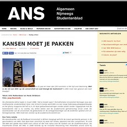 ANS-Online: Wat is de rol van ANS op de universiteit en wat brengt de toekomst?