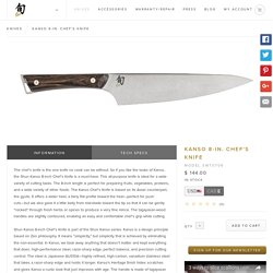 Kanso 8-in. Chef's Knife