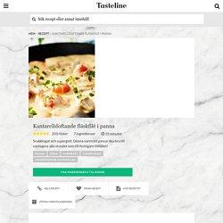 Kantarelldoftande fläskfilé i panna - Recept - Tasteline.com