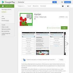 Kantari – Applications Android sur GooglePlay