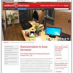 Kantoorruimte te huur Deventer bedrijfspand