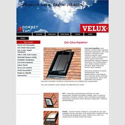 Çatı Çıkış Kapakları, Skylight, Velta, GVT boyutları