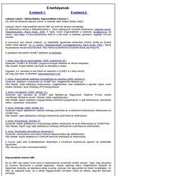 Kapcsolatháló elemzők honlapja