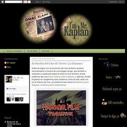 I'm Mr. Kaplan - Blog de cine, series y demás: Evolución del Cine de Terror: La Hammer.