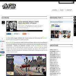 Anish Kapoor investit Paris pour une expo virtuelle