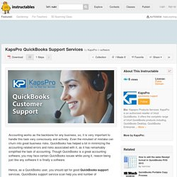 Kapspro QuickBooks Online Support Services