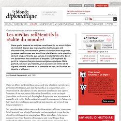 Les médias reflètent-ils la réalité du monde ?, par Ryszard Kapuscinski (Le Monde diplomatique, août 1999)