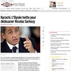 Karachi: L'Elysée twitte pour dédouaner Nicolas Sarkozy