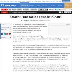 Karachi: ''une fable à épisode'' (Chate