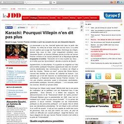 Karachi: Les raisons du silence de Villepin