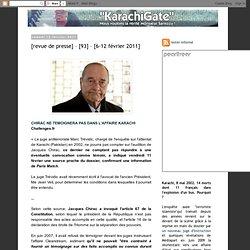 [revue de presse] – [93] – [6-12 février 2011]