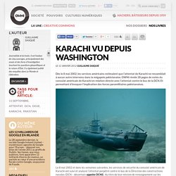 Karachi vu depuis Washington