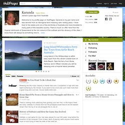 Karanda on HubPages