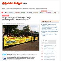 Warga Karangwuni Akhirnya Setuju Pembangunan Apartemen Uttara - Kedaulatan Rakyat Online Yogyakarta