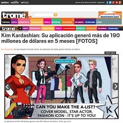 Kim Kardashian: Su aplicación generó más de 190 millones de dólares en 5 meses [FOTOS]
