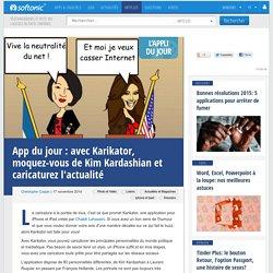 Avec Karikator, moquez-vous de Kim Kardashian et caricaturez l'actualité