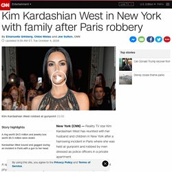 Kim Kardashian West held at gunpoint, robbed in Paris ...