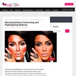 Kim Kardashian Contouring and Highlighting Makeup
