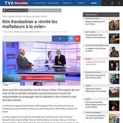 Kim Kardashian a «invité les malfaiteurs à la voler»