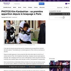 PHOTOS Kim Kardashian : sa première apparition depuis le braquage à Paris