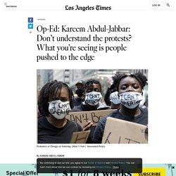 Kareem Abdul-Jabbar reflects on George Floyd protests