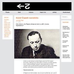 Karel Čapek socialista