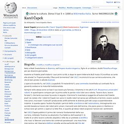 Karel Čapek (Wikipedia)